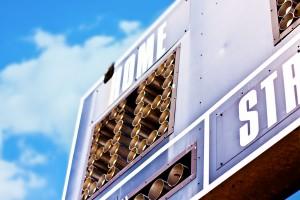 #248647259 Ballpark Scoreboard